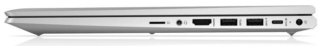 HP ProBook 450 G8 閉じた状態の右側面