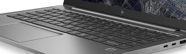 HP ZBook Firefly 14 inch G8のキーボード