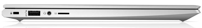 HP ProBook 430 G8の左側面インターフェイス
