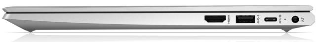 HP ProBook 430 G8の右側面インターフェイス