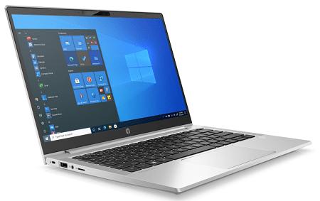 HP ProBook 430 G8の外観 左斜め前から