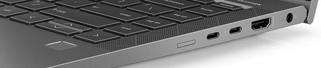 HP ZBook Firefly 14 inch G8の右側面インターフェイス