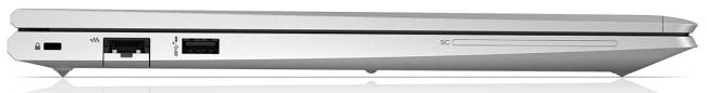 HP ProBook 650 G8の左側面 閉じた状態