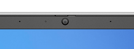 HP ProBook 450 G8 ディスプレイ上部のWebカメラとプライバシーシャッター