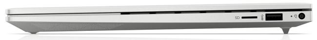 HP Envy 14-eb0000 閉じた状態の右側面