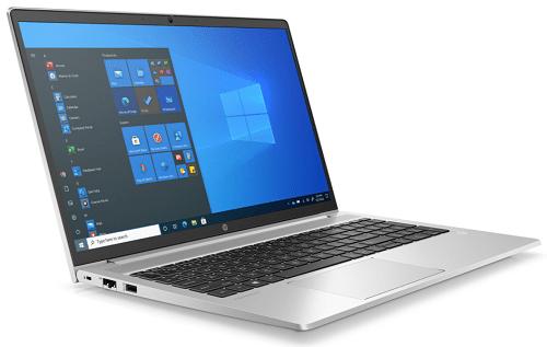 HP ProBook 450 G8 左斜め前から