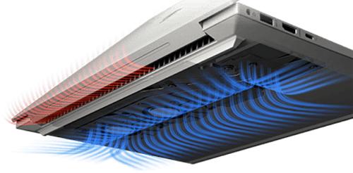 HP Envy 14-eb0000の空気口