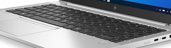 HP EliteBook 840 Aero G8のキーボード面