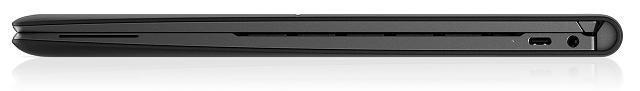 HP Elite Folio 閉じた状態の右側面