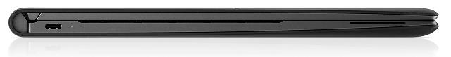 HP Elite Folio 閉じた状態の左側面