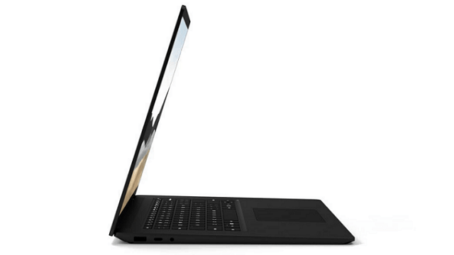 Surface Laptop 4 左側面