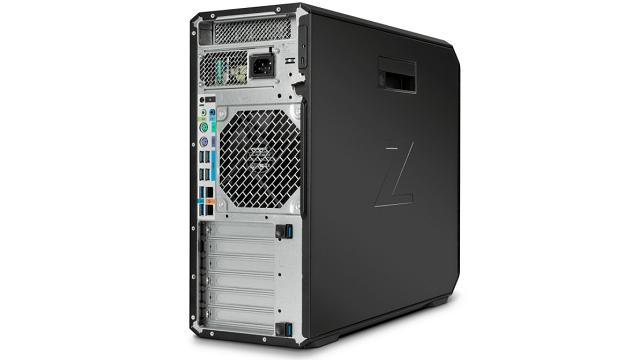 HP Z4 G4の外観 背面