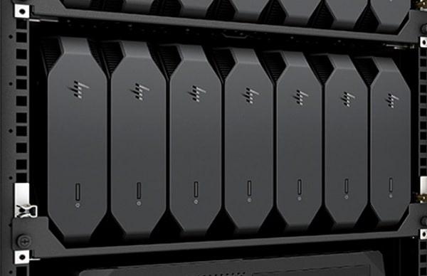 HP Z2 Mini G5 WorkStationをラックマウントに設置