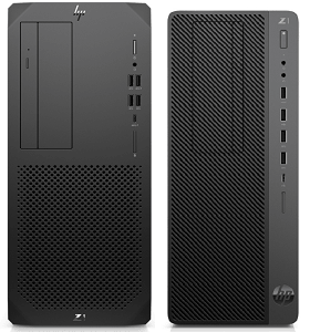 HP Z1 Entry Tower G6と旧モデルのZ1 Entry Tower G5の筐体比較