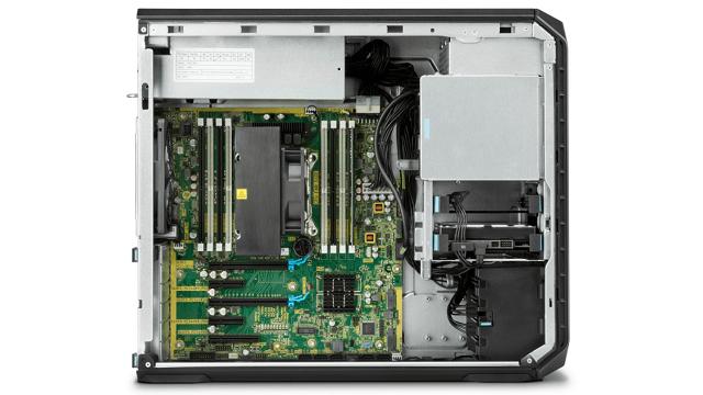 HP Z4 G4の筐体内部