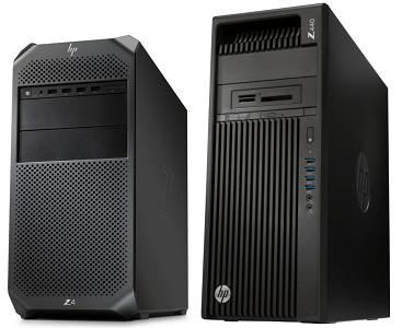 HP Z4 G4とZ440の比較