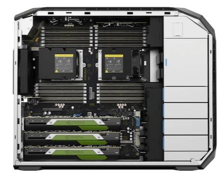 HP Z8 G4 筐体内部