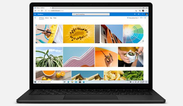 Surface Laptop 4 正面ディスプレイ