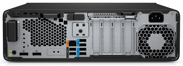 HP Z2 SFF G5 Workstation 背面