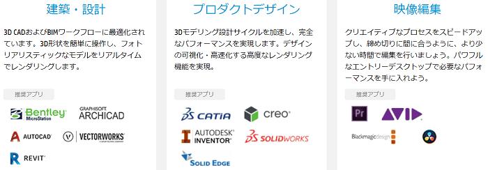 HP Z2 Tower G5 ISV認証