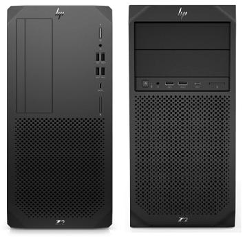 HP Z2 Tower G5とHP Z2 Tower G4の筐体比較