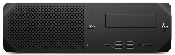 HP Z2 SFF G5 Workstation 置いた状態の正面