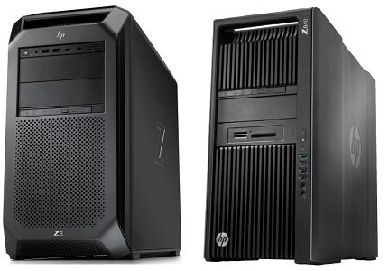 HP Z8 G4と旧モデルのZ840の筐体比較