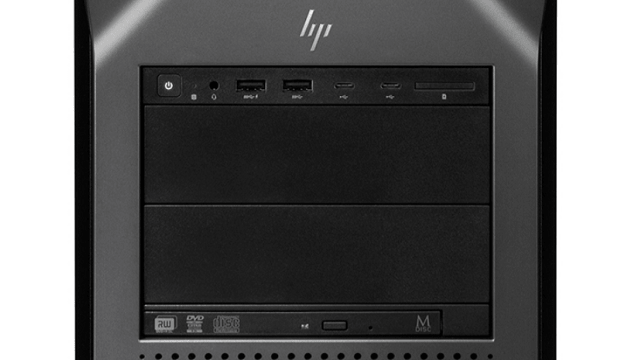 HP Z8 G4 前面インターフェース