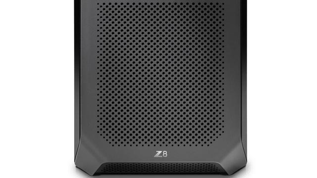 HP Z8 G4 正面の吸気口