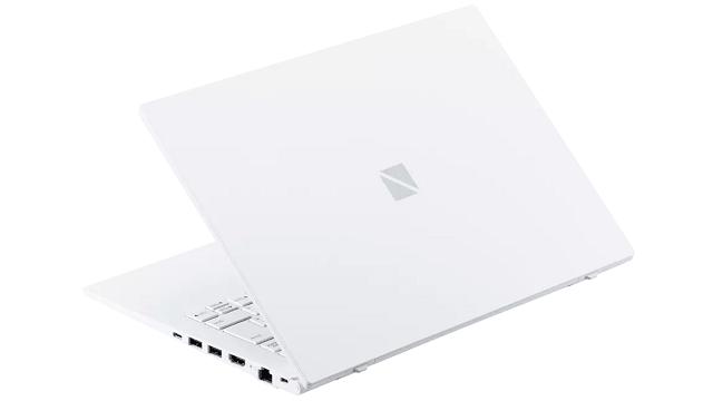 NEC Lavie N14 2021年秋冬モデル 背面