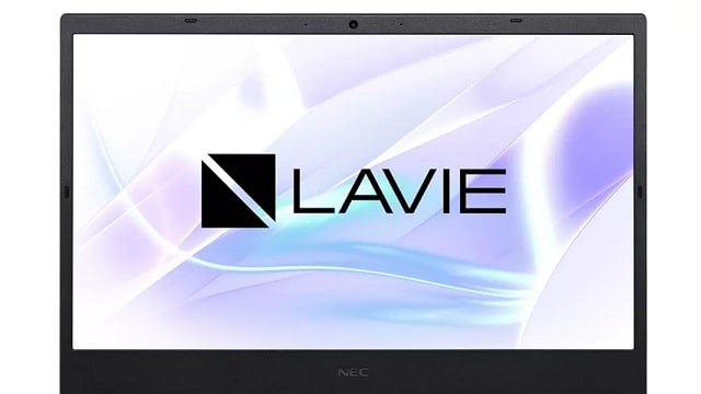Lavie Direct N15(A) 2021年秋冬モデルのディスプレイ