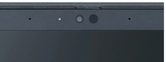 NEC Lavie Direct PM(x) 2021年夏モデルのWebカメラ・IRカメラ