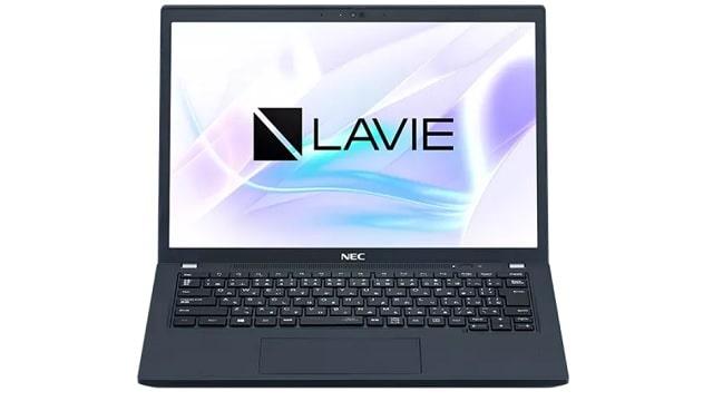 NEC Lavie Direct PM(X) 2021年夏モデル 正面