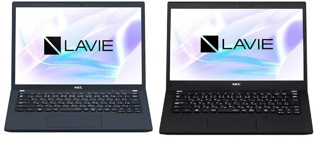NEC Lavie PMX 2021年夏モデルと旧モデルの比較