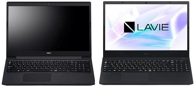 NEC Lavie Direct NS(R)と比較機種の筐体