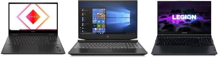 HP OMEN 15-ek0000と比較機種の筐体