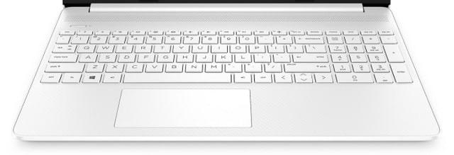 HP 15s-fq2000のキーボード