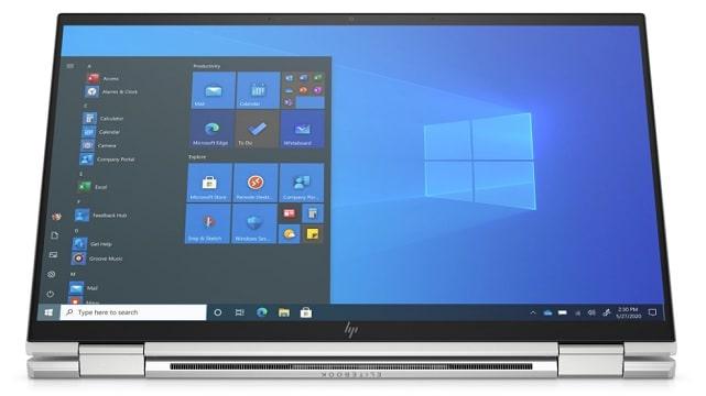 HP EliteBook x360 1040 G8 タブレットモード
