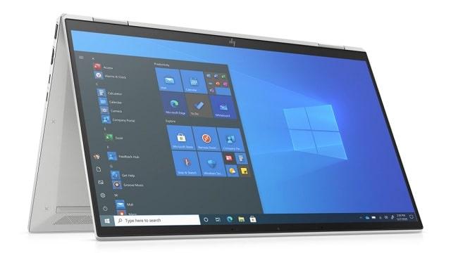 HP EliteBook x360 1040 G8 テントモード