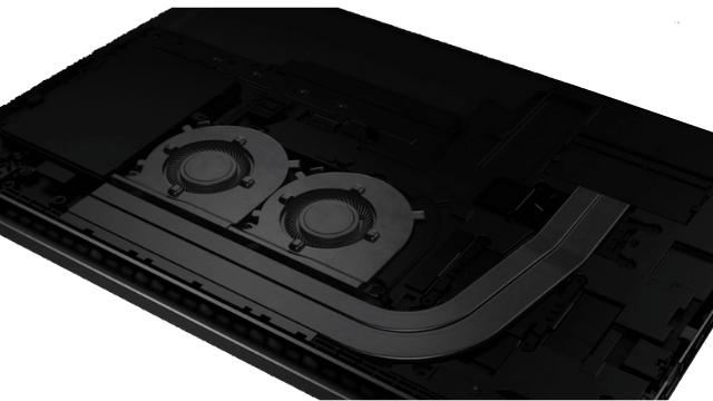 HP Pavilion Gaming 15-ec2000の筐体内部