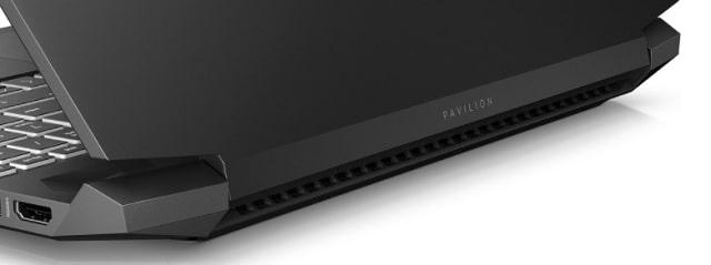 HP Pavilion Gaming 15-ec2000の排気口