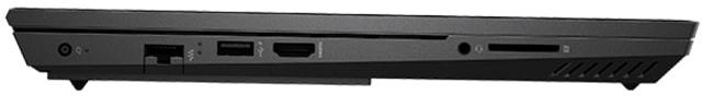 HP OMEN 15-ek0000の左側面インターフェース