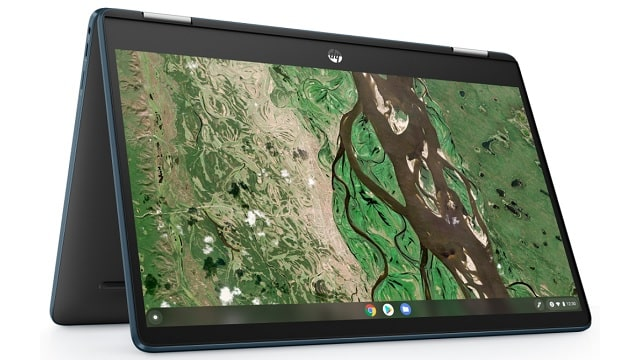 HP Chromebook x360 14b-cb0000 テントモード