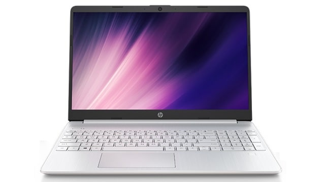 HP 15s-fq2000 正面