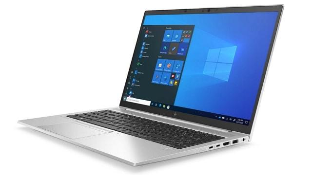 HP EliteBook 850 G8 右斜め前から