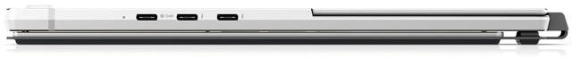 HP Elite x2 G8 右側面