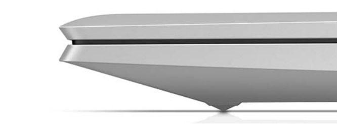 HP EliteBook 850 G8のディスプレイ開閉部分