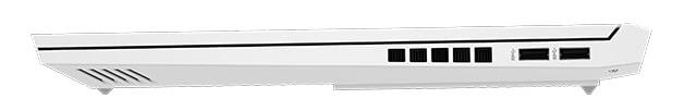 HP Victus 16 右側面インターフェース