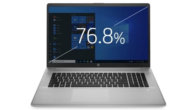 HP 470 G8 画面液晶比率