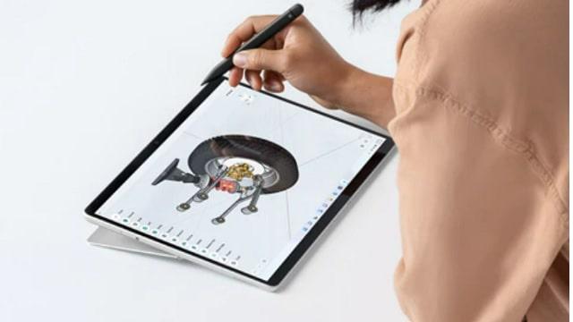 Surface pro 8 イラスト時